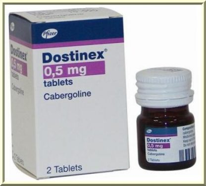 Buy Dostinex 0.5 mg from Pfizer online in USA now