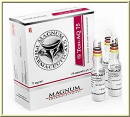 Buy Test-AQ 75 from Magnum Pharmaceuticals online in USA now